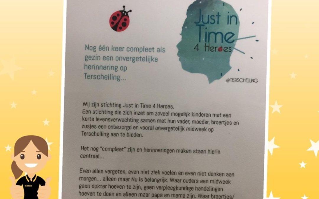 Jumbo Barneveld in actie voor JiT4H