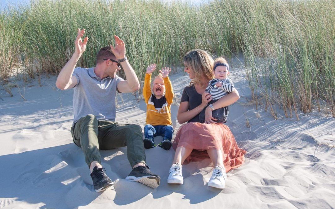 Ons 4de gezin compleet herinneringen gemaakt op Terschelling