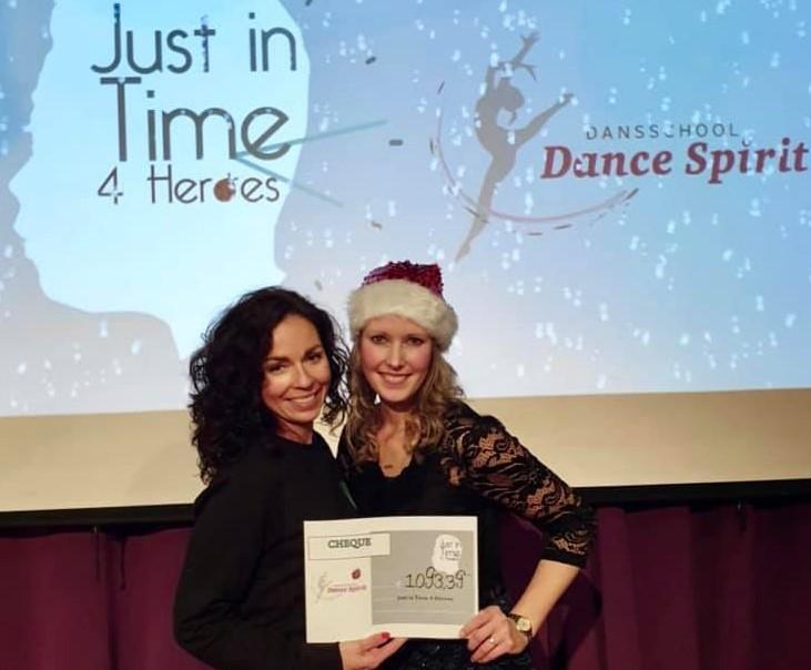 Kerstshow Dance Spirit